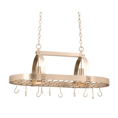Kalco 2 Light Hanging Pot Rack