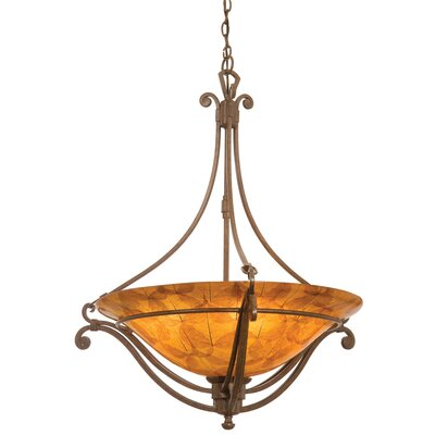 Kalco Somerset 5 Light Chandelier