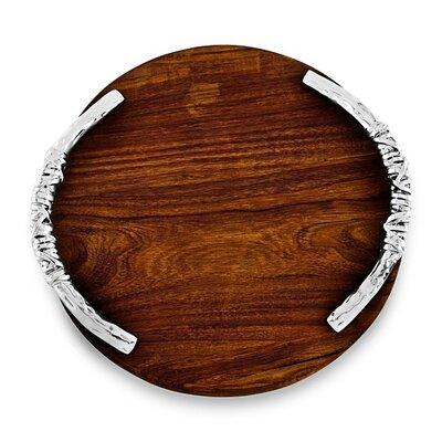 Soho Galena Wood Round Cutting Board
