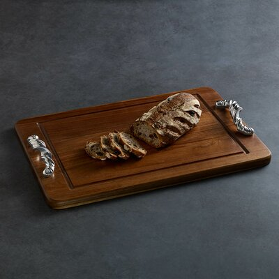 Soho Torza Wood Rectangle Cutting Board