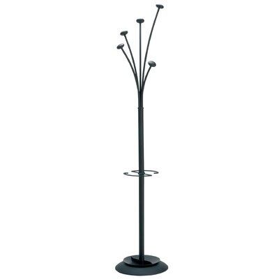 Festival Modern Large Capacity Coat Stand Color: Black