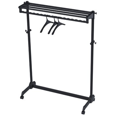 Garment Rack with Theft Deterrent Hanging System