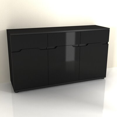 Amos Mann Furniture Aspen 3 Door 3 Drawer Sideboard