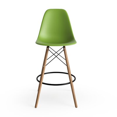 "Alyssa 25.5"" Bar Stool Finish: Green"