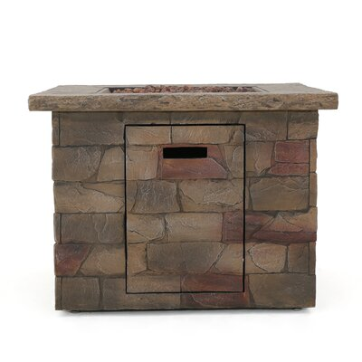 Romo Stone Propane Fire Pit Table