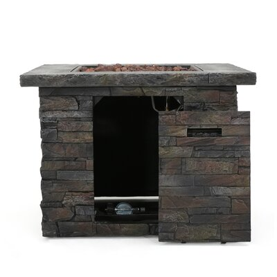 Stripling Stone Propane Fire Pit Table