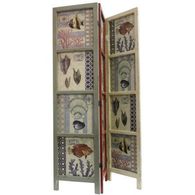 Ocean Animals Themed 3 Panel Room Divider