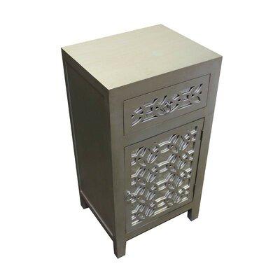 1 Door 1 Drawer Accent Cabinet