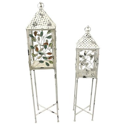 2 Piece Plant Stand Set
