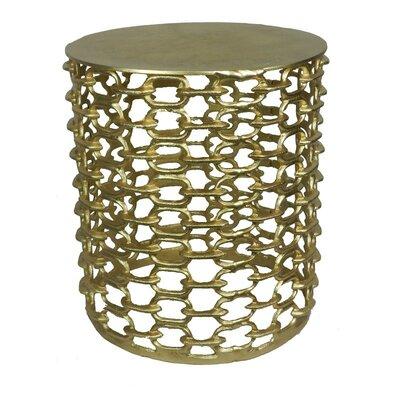 Metal Stool Finish: Gold