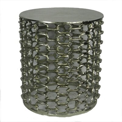 Metal Stool Finish: Silver