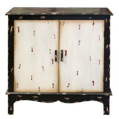 Wooden 2 Door Accent Cabinet