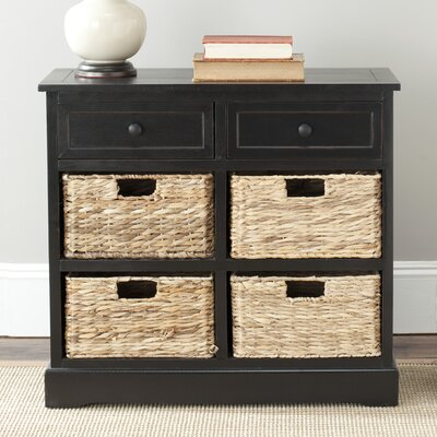 Sutherland 6 Drawer Chest Color: Distressed Black