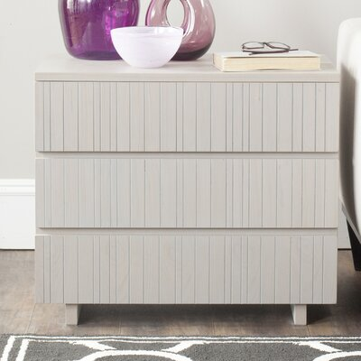 Camarena 3 Drawer Accent Chest Color: Grey
