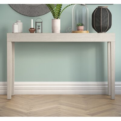 Kadyn Console Table Color: Grey