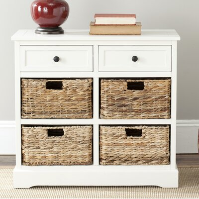 Sutherland 6 Drawer Chest Color: Distressed Cream