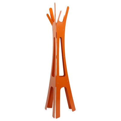 Coat Rack Color: Burnt Orange