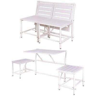 My Balconia Convertible Bench Color: White