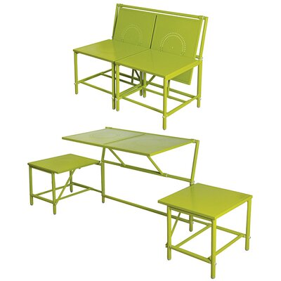 myBalconia Convertible Bench Color: Green