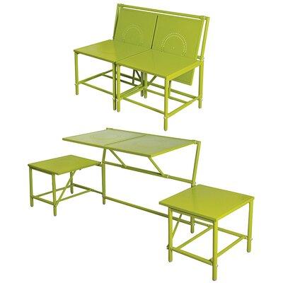 myBalconia Convertible Bench Color: Green