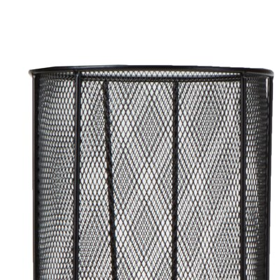 Black Metal Mesh Umbrella Stand