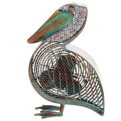 Demar Pelican Figurine Table Fan