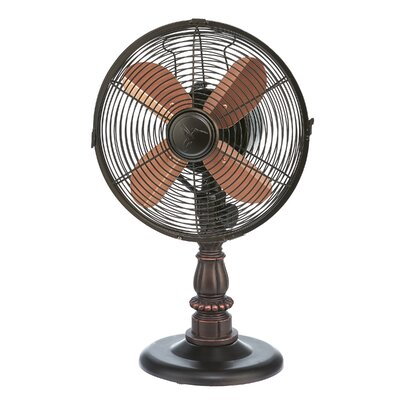 "Pinion 10"" Oscillating Table Fan"
