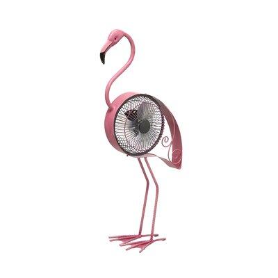 Northland Flamingo Hand Held Fan