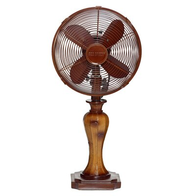 """Brentwood 10"""" Oscillating Table Fan"""