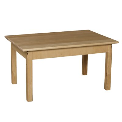 "Wood Designs 36"" x 24"" Rectangular Activity Table"