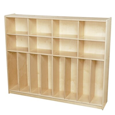 Contender 3 Tier 4 Wide Coat Locker Assembly: Ships Ready to Assemble