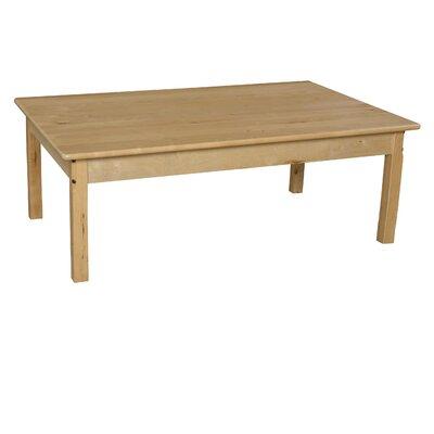"30"" x 48"" Rectangular Activity Table Size: 15"" H x 48"" W x 30"" D"