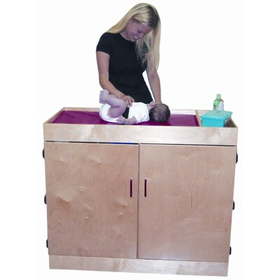 Deluxe Infant Care Center Changing Table Color: Natural