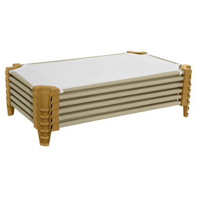 Incredible Cot Size: Toddler, Color: Tan