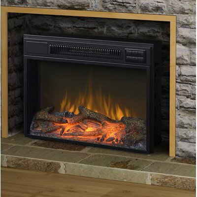 Jenifer Electric Fireplace Insert Size: 24""