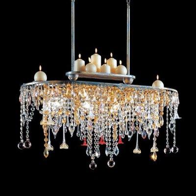 KÖGL Wohnlicht Kronleuchter 4-flamig Golden Dream
