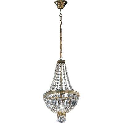KÖGL Wohnlicht Kristall-Pendelleuchte 1-Flammig Cupola