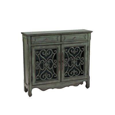 Eloisee 2 Drawer 2 Door Accent Cabinet
