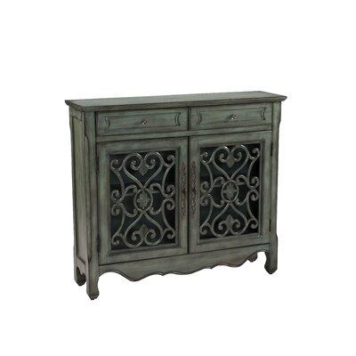 Eloisee 2 Drawer 2 Door Accent Cabinet