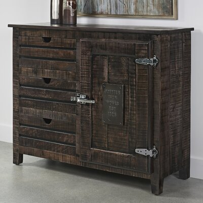 Daub 3 Drawer 1 Door Accent Cabinet