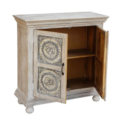 Elita 2 Door Accent Cabinet
