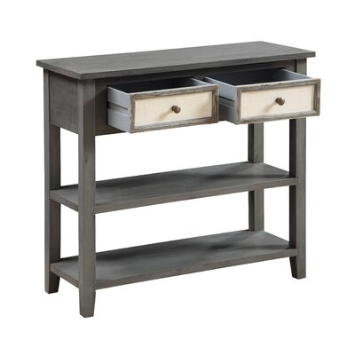 Hazelden 2 Drawer Console Table
