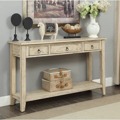 Stas 3 Drawer Console Table