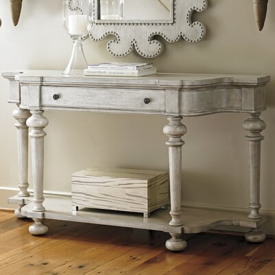 Oyster Bay Console Table Color: Off White