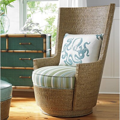 Twin Palms Lago Mar Swivel Armchair
