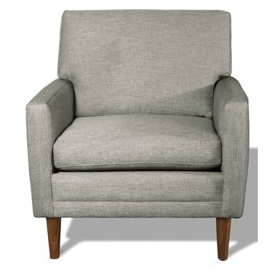 Circa Armchair Leg Color: Honey, Body Fabric: Marlow Plum