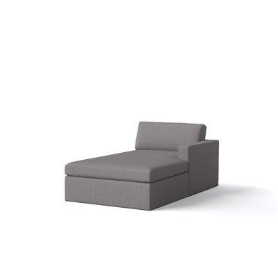 Marfa Chaise Orientation: Right Hand Facing, Body Fabric: Klein Sea Blue