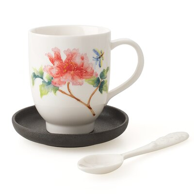 Alison Appleton Darcy Teacup with Saucer and Spoon