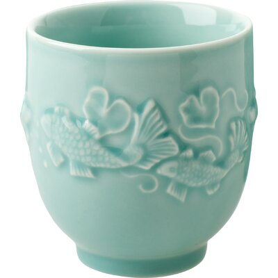 Alison Appleton Golden Carp Teacup