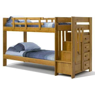 Twin over Twin Bunk with Storage